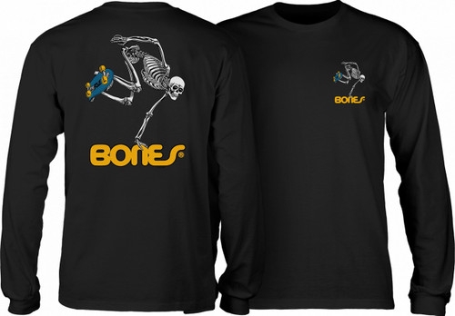 Powell Peralta Old School Skateboarding Skeleton Long Sleeve Shirt (Available in 4 Colors)