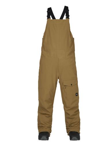 Men's Analog Breakneck Bib Pants (Dull Gold) FREE USA SHIPPING