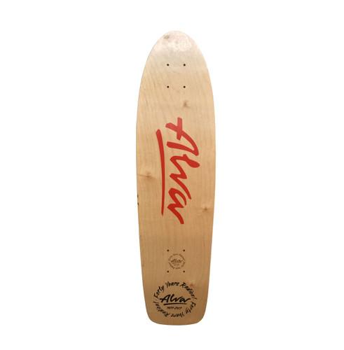 Alva Skates 40th Anniversary 1977 OG RE-ISSUE Deck (Red)