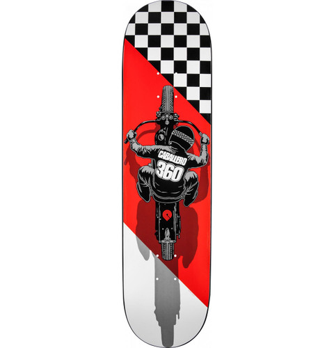"Powell Peralta Caballero Flat Track Deck 8.25"" X 32.5"""