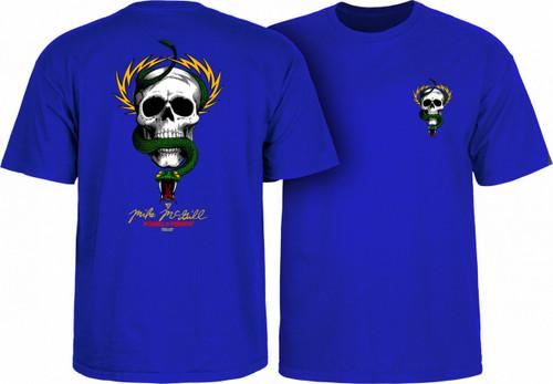 Powell Peralta Old School McGill Skull & Snake T-Shirt (Royal Blue)