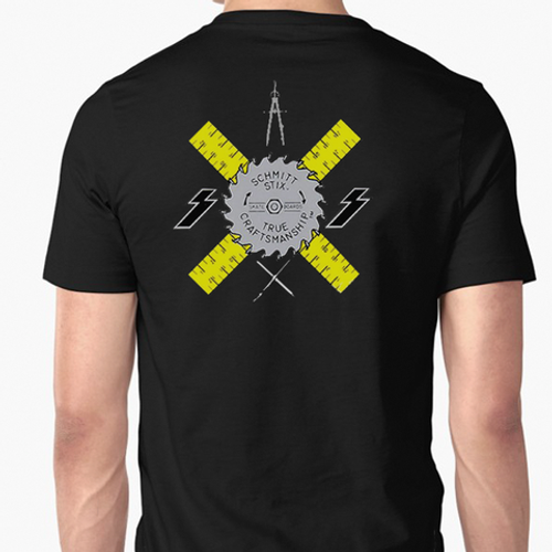 Schmitt Stix Ripsaw Old School Reissue T-Shirt (Black)