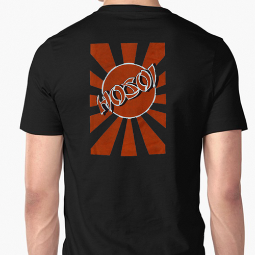 Hosoi Skates Rising Sun Old School Reissue T-Shirt (Black)
