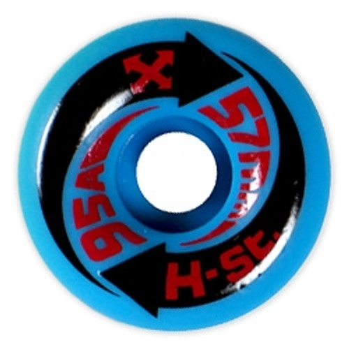 Old School NOS H-Street Arrow Wheels Blue 57MM/95A
