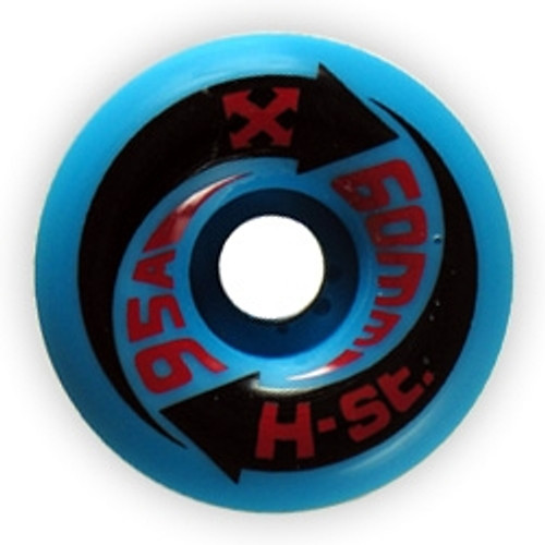 Old School NOS H-Street Arrow Wheels Blue 60MM/95A