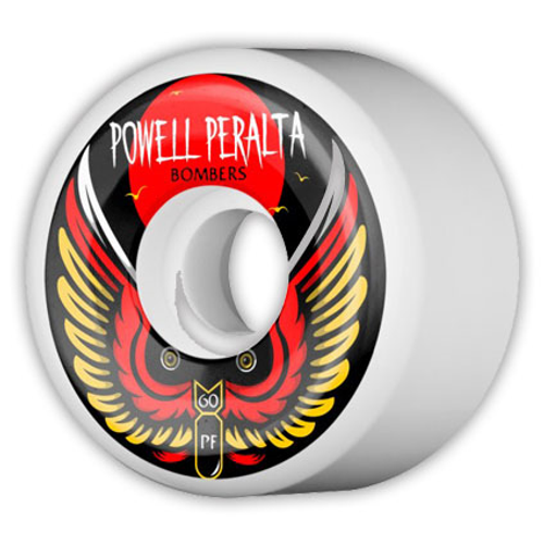 Powell Peralta White Bomber PF Wheels 60mm