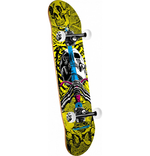 """Powell Peralta Skull & Sword CMYK Complete Skateboard 7.5"""" x 31.375"""""""