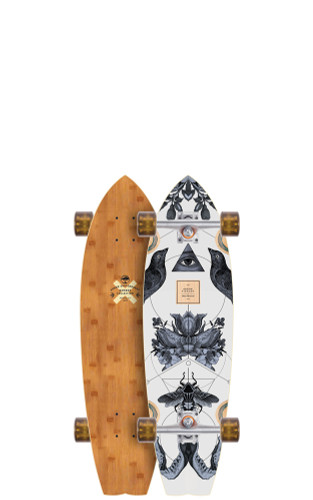 "Arbor Sizzler Bamboo Longboard 8.63"" X 31.75"" (Available as Deck or Complete) FREE USA SHIPPING"