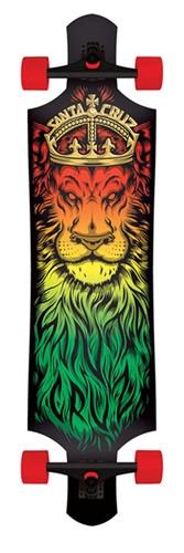 Santa Cruz Lion Drop Down Longboard 10 X 40