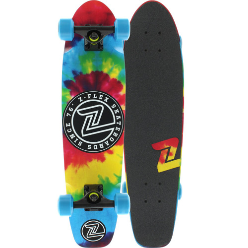 "Z-Flex Hippi-Tized Cruiser Skateboard 7.5"" X 29.375"""