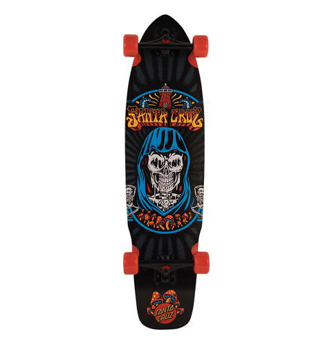"Santa Cruz Trippin Flex Tech Longboard 9.7"" X 38"" FREE USA SHIPPING"