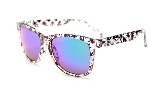 Happy Hour Pudwill High Times Sunglasses Clear