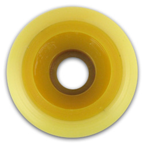 Vision Proton Wheels Yellow Core Blanks 58MM/94A [SAVE $18.00]