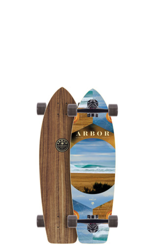 "Arbor Rally PC Longboard 8.90"" X 30.5"" (Available as Deck or Complete) FREE USA SHIPPING"