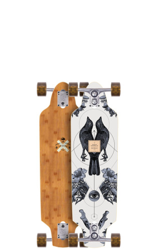"Arbor Zeppelin Bamboo Longboard 8.75"" X 32"" (Available as Deck or Complete) FREE USA SHIPPING"