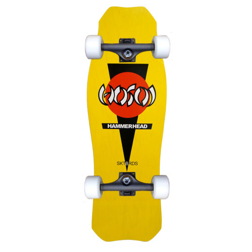 "Hosoi OG Hammerhead Old School Re-Issue Yellow Complete 10.5"" X 31"""