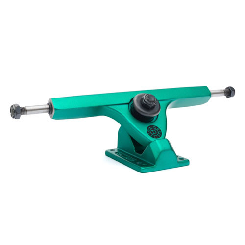 "Caliber II Midnight Satin 44 Green Trucks 10"" (Set of 2)"