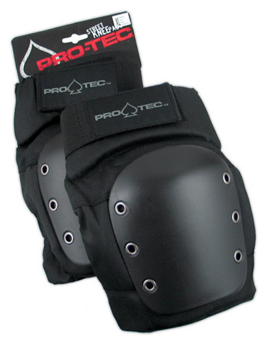 Pro-Tec Street Knee Pads Black (Set of 2)
