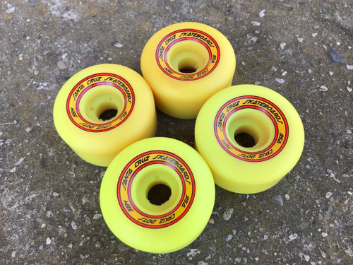 Old School NOS Santa Cruz Dots Wheels 56MM/95A