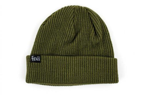 Fiend Knit Beanie Green