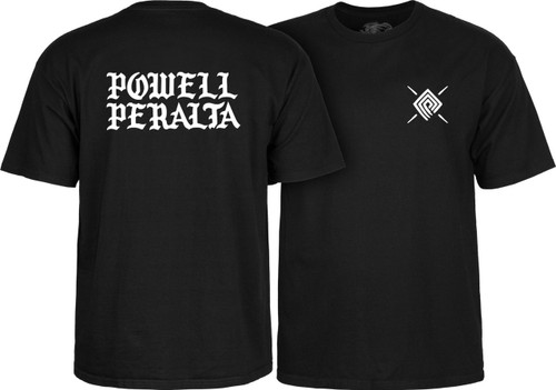 Powell Peralta PPP Burst 90's Logo T-Shirt