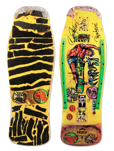 Hosoi Skates Rocket Paint Air Autographed Deck