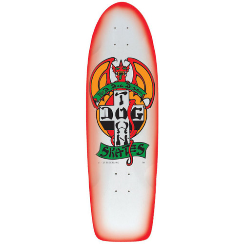 "Dogtown Red Dog OG Red Fade Deck 9"" X 30.25"""