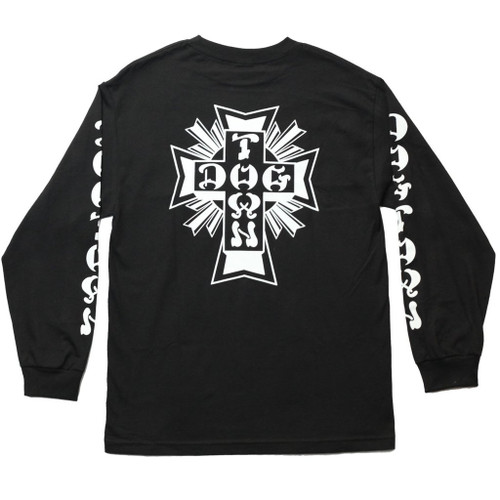 Dogtown Skates Cross Logo Long Sleeve Shirt