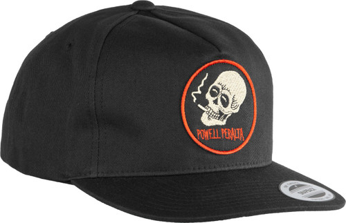 Powell Peralta Smoking Skull Patch Snapback Hat