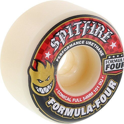SPITFIRE Formula Four Conical Full 101D 54MM (Set of 4)