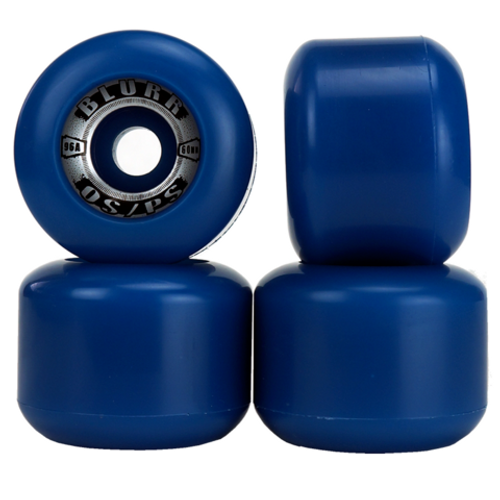 Old School Vision Blurr Reissue Wheels 60MM/96A Blue