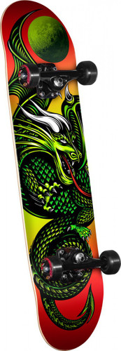 "Powell Golden Dragon Knight Dragon II Mini Complete 7.0"" X 28"""