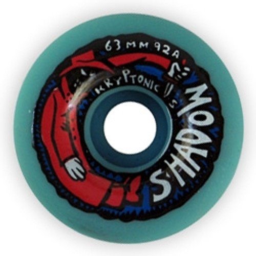 Old School NOS Kryptonics Shadow Wheels 63MM/92A Blue FLASH SALE