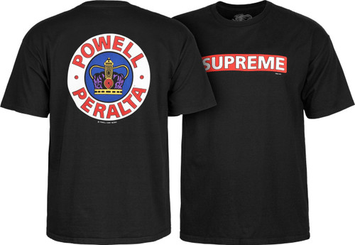 Powell Peralta Old School Supreme T-Shirt (Available in 3 Colors)