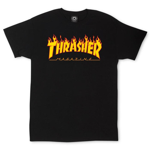 Thrasher Magazine Flame Logo T-Shirt (Available in 5 Colors)