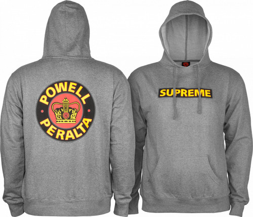 Powell Peralta Supreme Pullover Hooded Sweatshirt (Available in 3 Colors)