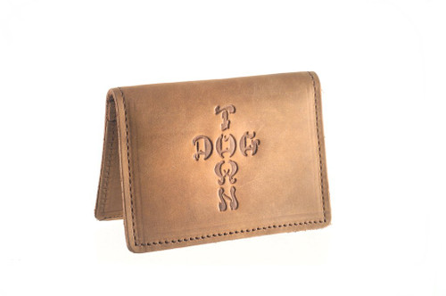 Dogtown X Suicidal Tendencies Bi Fold Leather Wallet