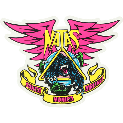 Santa Cruz SMA Natas Panther Sticker