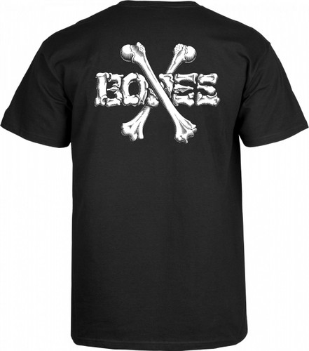 Powell Peralta Old School Crossbones T-Shirt (Available in 2 Colors)