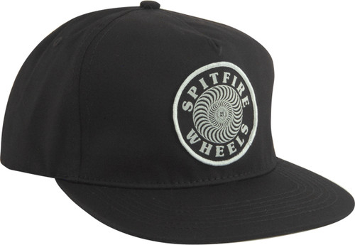Spitfire Skateboard Wheels OG Swirl Patch Snapback Hat