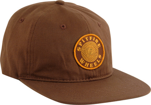 Spitfire Skateboard Wheels OG Swirl Patch Unstructured Strapback Hat