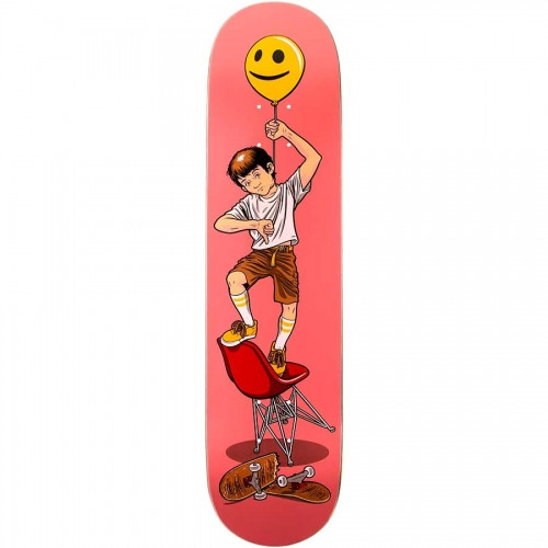 Paisley Skates Fun Size Balloon Boy Deck Pink