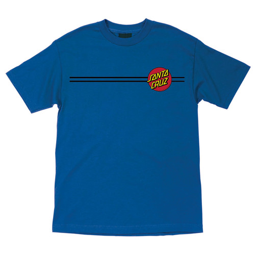 Santa Cruz Classic Dot T-Shirt Royal Blue