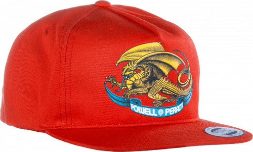 Powell Peralta Oval Dragon Hat Red