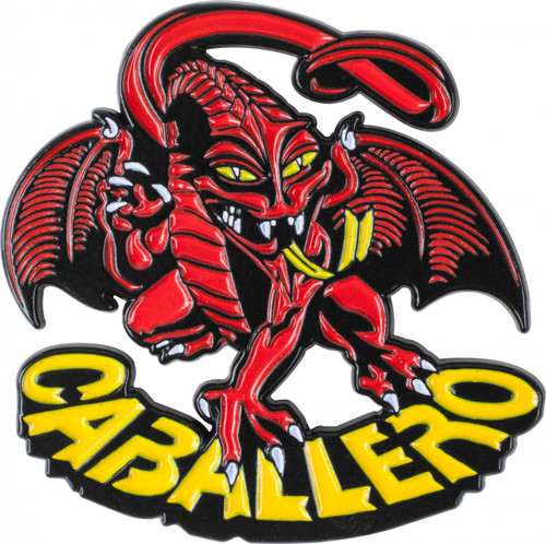 Powell Peralta Caballero Dragon Lapel Pin