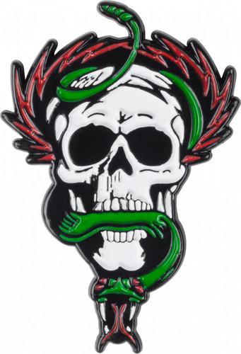 Powell Peralta McGill Skull n Snake Lapel Pin