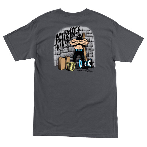 Santa Cruz Cell Block Executioner T-Shirt (Available in 3 Colors)