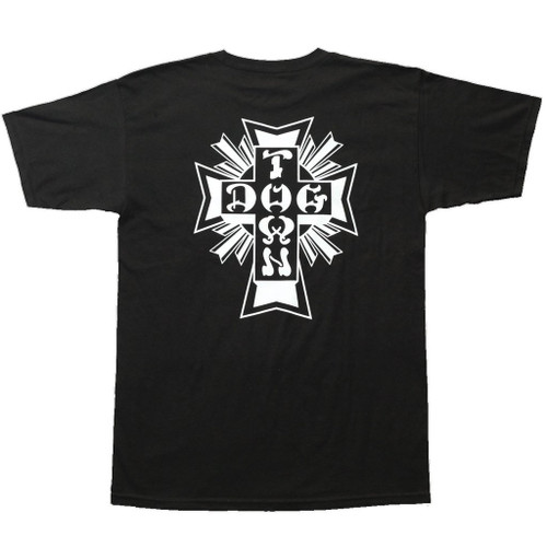 Dogtown Skates Cross Logo T-Shirt (Black)