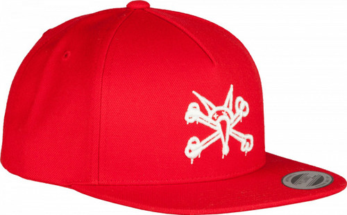 Powell Peralta Vato Rat Snapback Hat Red
