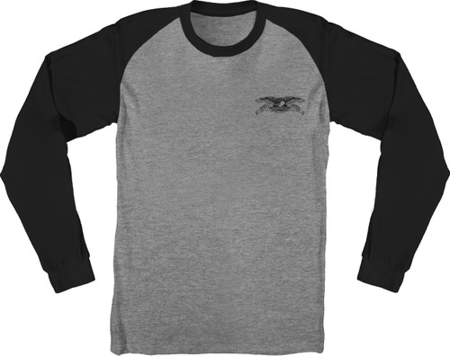 Antihero Skateboards Raglan Stock Eagle Long Sleeve Shirt